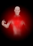 Invisible Man. An invisible man who is slowly fading away Royalty Free Stock Photo
