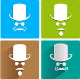Invisible men Royalty Free Stock Photos