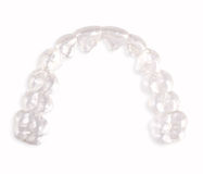 Invisible retainer, orthodontia Royalty Free Stock Photo