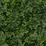 Invisible seamless pattern. Camouflage seamless, endless background. Hunting and military background. Woodland. The colors of the shades are green. Abstract Royalty Free Stock Image
