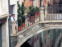 The Invisible Side of Venice Stock Photo