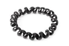 Invisibobble - elastici dei capelli di spirale femminile degli accessori Fotografia Stock Libera da Diritti