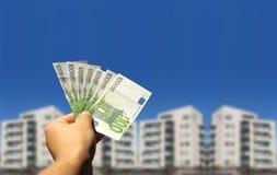 Invista em bens imobiliários Imagens de Stock Royalty Free