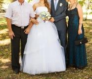 Invités au mariage photographie stock libre de droits