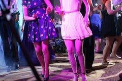 Invités dansant à la partie Photographie stock libre de droits