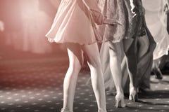 Invités dansant à la partie Photographie stock