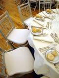 Invités wedding la table Photos stock