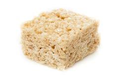 Invitación curruscante del arroz de la melcocha Foto de archivo libre de regalías