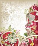 Invitación de boda de Asia ilustración del vector