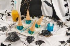 Invitación de Halloween Fotos de archivo libres de regalías