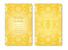 Invitación de la boda Imagenes de archivo