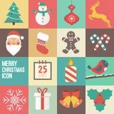 Invitación de la fiesta de Navidad Fotos de archivo