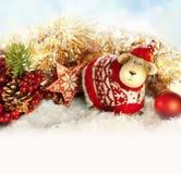 Invitación del Año Nuevo Imágenes de archivo libres de regalías