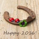 Invitación del Año Nuevo Imagen de archivo libre de regalías