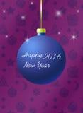 Invitación del Año Nuevo stock de ilustración