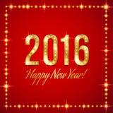 Invitación del Año Nuevo Foto de archivo