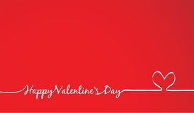 Invitación del día de tarjetas del día de San Valentín Foto de archivo libre de regalías