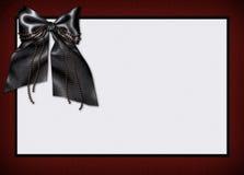 Invitación del menú de la tarjeta de Goth Imágenes de archivo libres de regalías