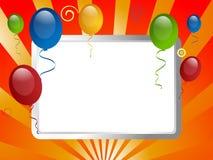 Invitación del partido Imagen de archivo libre de regalías