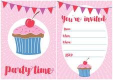 Invitación del partido Imagen de archivo