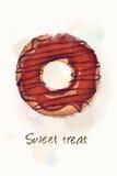 Invitación dulce jpg Imagenes de archivo