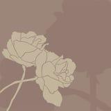 Invitación floral Fotografía de archivo