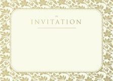 Invitación a la boda Fotos de archivo