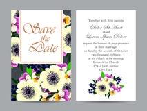 Invitación romántica Imágenes de archivo libres de regalías