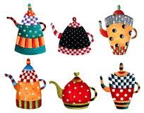 Invitación del tiempo del té Imagen de archivo libre de regalías