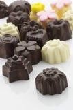 Invitaciones del chocolate Fotos de archivo libres de regalías