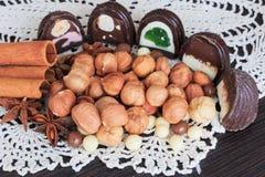 Invitaciones del dulce en una tabla Foto de archivo