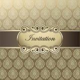 Invitaciones del modelo del vector Fotos de archivo
