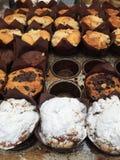 Invitaciones frescas del dulce de la panadería Fotografía de archivo libre de regalías