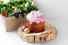 Invitaciones para una Pascua feliz Imagen de archivo libre de regalías