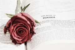 Invitant à la foi, symboles photo libre de droits