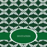 Invitation élégante Photographie stock libre de droits