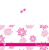 Invitation. Background to the invitation. Color Pink Royalty Free Stock Photo
