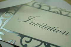 Invitation Royalty Free Stock Images