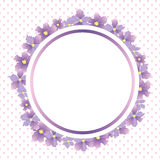 Invitation. Flower's background for invitations Royalty Free Illustration