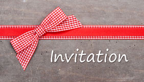 Invitation Stock Images