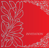 invitation Fotografia de Stock