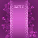 invitation ilustração stock