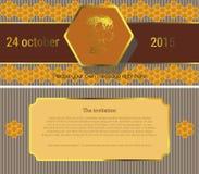 Invitation5 ilustracja wektor