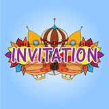 invitation Photographie stock