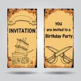 invitation Photos libres de droits