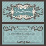 invitation illustration stock