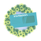 Invitation Royalty Free Stock Photo