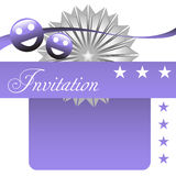 Invitation Stock Photography