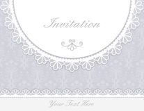 Invitation, anniversary card Stock Image