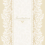 Invitation, anniversary card Royalty Free Stock Photo